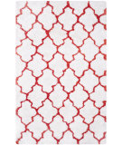 RugStudio presents Safavieh Barcelona Shag Bsg319e White / Rust Area Rug