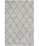 RugStudio presents Safavieh Barcelona Shag Bsg319k Cream / Blue Area Rug