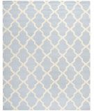 RugStudio presents Safavieh Cambridge CAM121A Light Blue / Ivory Hand-Tufted, Good Quality Area Rug