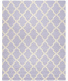 RugStudio presents Safavieh Cambridge CAM121C Lavander / Ivory Hand-Tufted, Good Quality Area Rug