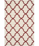 RugStudio presents Safavieh Cambridge Cam121i Ivory / Rust Area Rug