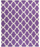 RugStudio presents Safavieh Cambridge CAM121K Purple / Ivory Hand-Tufted, Good Quality Area Rug