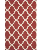 RugStudio presents Safavieh Cambridge Cam121l Rust / Ivory Hand-Tufted, Better Quality Area Rug