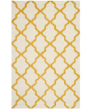 RugStudio presents Safavieh Cambridge Cam121u Ivory / Gold Hand-Tufted, Good Quality Area Rug