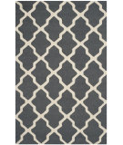 RugStudio presents Safavieh Cambridge Cam121x Dark Grey / Ivory Hand-Tufted, Good Quality Area Rug