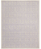 RugStudio presents Safavieh Cambridge CAM123C Lavander / Ivory Hand-Tufted, Good Quality Area Rug