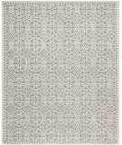 RugStudio presents Safavieh Cambridge Cam123d Silver / Ivory Hand-Tufted, Good Quality Area Rug