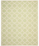 RugStudio presents Safavieh Cambridge CAM125B Light Green / Ivory Area Rug