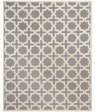 RugStudio presents Safavieh Cambridge Cam125d Silver / Ivory Hand-Tufted, Good Quality Area Rug