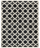 RugStudio presents Safavieh Cambridge Cam125e Black / Ivory Hand-Tufted, Good Quality Area Rug