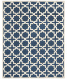 RugStudio presents Safavieh Cambridge Cam125g Navy Blue / Ivory Hand-Tufted, Good Quality Area Rug