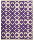 RugStudio presents Safavieh Cambridge CAM125K Purple / Ivory Hand-Tufted, Good Quality Area Rug
