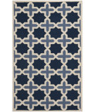 RugStudio presents Safavieh Cambridge CAM127A Light Blue / Ivory Hand-Tufted, Good Quality Area Rug