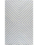 RugStudio presents Safavieh Cambridge CAM129A Light Blue / Ivory Hand-Tufted, Good Quality Area Rug