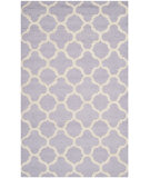 RugStudio presents Safavieh Cambridge Cam130c Lavander / Ivory Hand-Tufted, Good Quality Area Rug