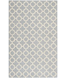 RugStudio presents Safavieh Cambridge Cam130d Silver / Ivory Hand-Tufted, Better Quality Area Rug