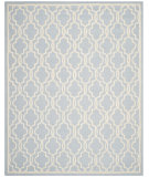 RugStudio presents Safavieh Cambridge Cam131a Light Blue / Ivory Hand-Tufted, Good Quality Area Rug