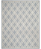RugStudio presents Safavieh Cambridge Cam131d Silver / Ivory Hand-Tufted, Good Quality Area Rug