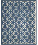 RugStudio presents Safavieh Cambridge Cam131g Navy / Ivory Hand-Tufted, Good Quality Area Rug