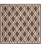 RugStudio presents Safavieh Cambridge Cam131h Dark Brown / Ivory Hand-Tufted, Good Quality Area Rug