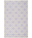 RugStudio presents Safavieh Cambridge Cam132c Lavander / Ivory Hand-Tufted, Better Quality Area Rug