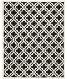 RugStudio presents Safavieh Cambridge CAM132E Black / Ivory Hand-Tufted, Good Quality Area Rug