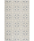 RugStudio presents Rugstudio Sample Sale 94112R Silver / Ivory Hand-Tufted, Better Quality Area Rug