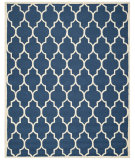 RugStudio presents Safavieh Cambridge Cam134g Navy / Ivory Hand-Tufted, Better Quality Area Rug