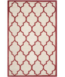 RugStudio presents Safavieh Cambridge Cam134i Ivory / Rust Hand-Tufted, Good Quality Area Rug