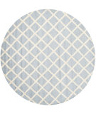 RugStudio presents Safavieh Cambridge Cam135a Light Blue / Ivory Hand-Tufted, Good Quality Area Rug