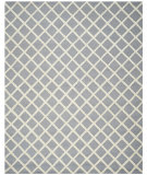 RugStudio presents Safavieh Cambridge CAM135D Silver / Ivory Hand-Tufted, Good Quality Area Rug