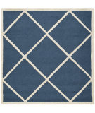 RugStudio presents Safavieh Cambridge Cam136g Navy / Ivory Hand-Tufted, Good Quality Area Rug