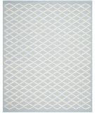 RugStudio presents Safavieh Cambridge CAM137A Light Blue / Ivory Hand-Tufted, Good Quality Area Rug