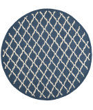 RugStudio presents Safavieh Cambridge Cam137g Navy / Ivory Hand-Tufted, Good Quality Area Rug