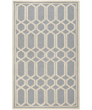 RugStudio presents Safavieh Cambridge CAM138D Silver / Ivory Hand-Tufted, Good Quality Area Rug