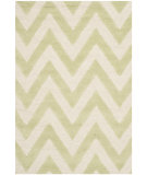 RugStudio presents Safavieh Cambridge Cam139b Light Green / Ivory Hand-Tufted, Better Quality Area Rug