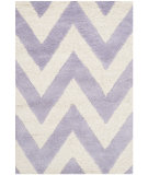 RugStudio presents Safavieh Cambridge Cam139c Lavander / Ivory Hand-Tufted, Better Quality Area Rug