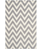 RugStudio presents Safavieh Cambridge Cam139d Silver / Ivory Hand-Tufted, Good Quality Area Rug