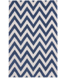 RugStudio presents Rugstudio Sample Sale 94139R Navy / Ivory Hand-Tufted, Better Quality Area Rug