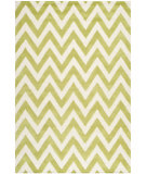 RugStudio presents Safavieh Cambridge Cam139t Green / Ivory Hand-Tufted, Better Quality Area Rug