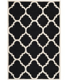 RugStudio presents Safavieh Cambridge Cam140e Black / Ivory Hand-Tufted, Better Quality Area Rug