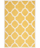 RugStudio presents Safavieh Cambridge Cam140q Gold / Ivory Hand-Tufted, Better Quality Area Rug