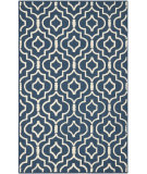 RugStudio presents Safavieh Cambridge CAM141G Navy Blue / Ivory Hand-Tufted, Better Quality Area Rug
