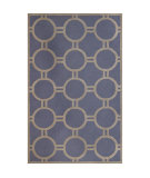 RugStudio presents Safavieh Cambridge CAM145A Light Blue / Ivory Hand-Tufted, Better Quality Area Rug