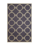 RugStudio presents Safavieh Cambridge CAM145D Silver / Ivory Hand-Tufted, Better Quality Area Rug