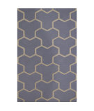 RugStudio presents Safavieh Cambridge CAM146A Light Blue / Ivory Hand-Tufted, Better Quality Area Rug