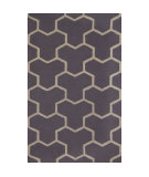 RugStudio presents Safavieh Cambridge CAM146D Silver / Ivory Hand-Tufted, Better Quality Area Rug