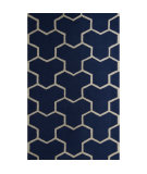 RugStudio presents Safavieh Cambridge CAM146G Navy Blue / Ivory Area Rug