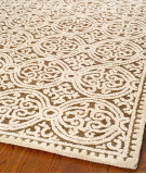 RugStudio presents Safavieh Cambridge Cam232a Brown / White Hand-Tufted, Better Quality Area Rug