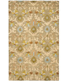 RugStudio presents Safavieh Cambridge Cam235a Moss / Multi Hand-Tufted, Better Quality Area Rug